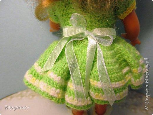 Моя коллега коллекционирует старых кукол ГДРок и пупсов,они часто ей достаются в плачевном состояние и без одежды,вот она и попросила меня принарядить некоторых из них. фото 6