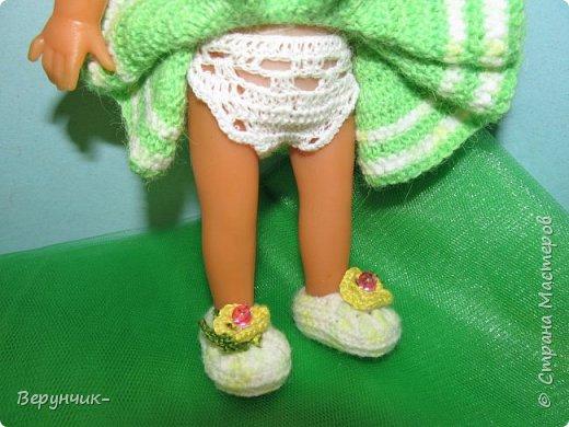 Моя коллега коллекционирует старых кукол ГДРок и пупсов,они часто ей достаются в плачевном состояние и без одежды,вот она и попросила меня принарядить некоторых из них. фото 7