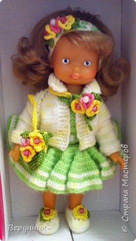 Моя коллега коллекционирует старых кукол ГДРок и пупсов,они часто ей достаются в плачевном состояние и без одежды,вот она и попросила меня принарядить некоторых из них. фото 1