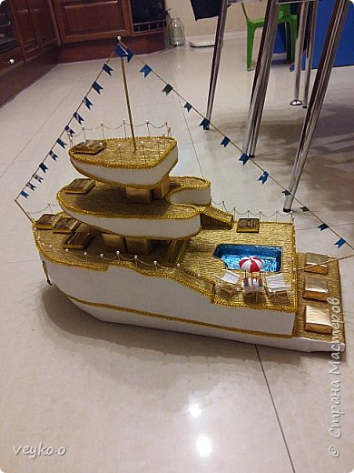 макет корабля фото 2