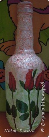 Бутылка превратилась в вазочку для подруги фото 2