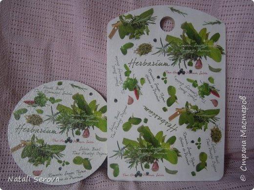 Два наборчика (разделочная доска и подставка под горячее) доча подарила бабушке  фото 2