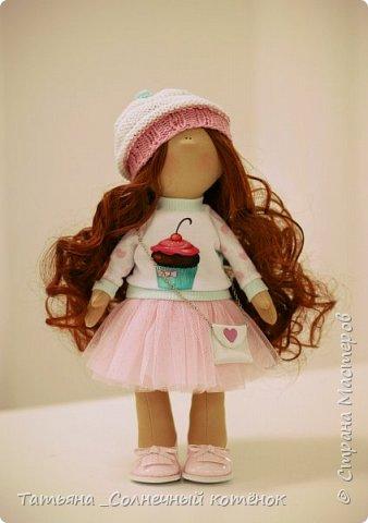 Текстильная куколка София фото 1