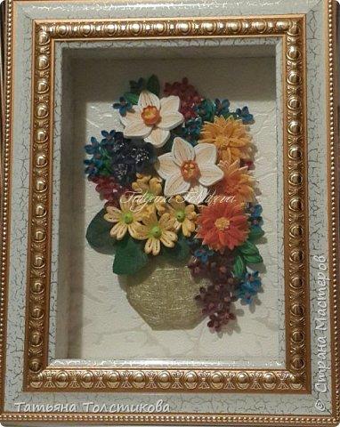 Всем привет! На днях я с огромным удовольствием рассматривала великолепные цветочные натюрморты английского художника Cecil Kennedy и была в восторге от его картин. Вдохновилась и сотворила вот такой небольшой букетик. Моя картинка размером 15×21, а насколько она получилась удачной, судить вам. Заранее спасибо за ваши комментарии. фото 6