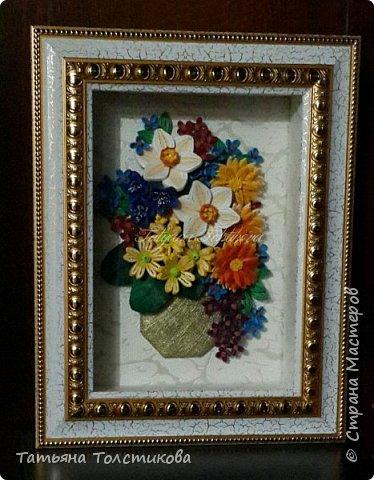Всем привет! На днях я с огромным удовольствием рассматривала великолепные цветочные натюрморты английского художника Cecil Kennedy и была в восторге от его картин. Вдохновилась и сотворила вот такой небольшой букетик. Моя картинка размером 15×21, а насколько она получилась удачной, судить вам. Заранее спасибо за ваши комментарии. фото 7
