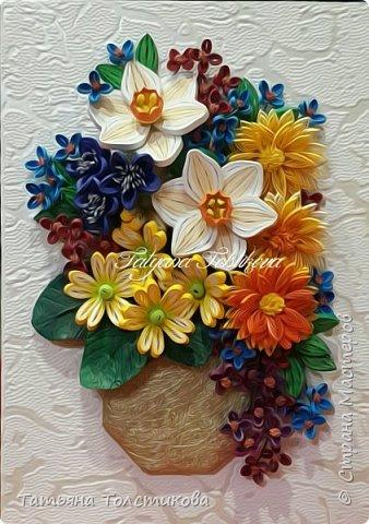Всем привет! На днях я с огромным удовольствием рассматривала великолепные цветочные натюрморты английского художника Cecil Kennedy и была в восторге от его картин. Вдохновилась и сотворила вот такой небольшой букетик. Моя картинка размером 15×21, а насколько она получилась удачной, судить вам. Заранее спасибо за ваши комментарии. фото 8