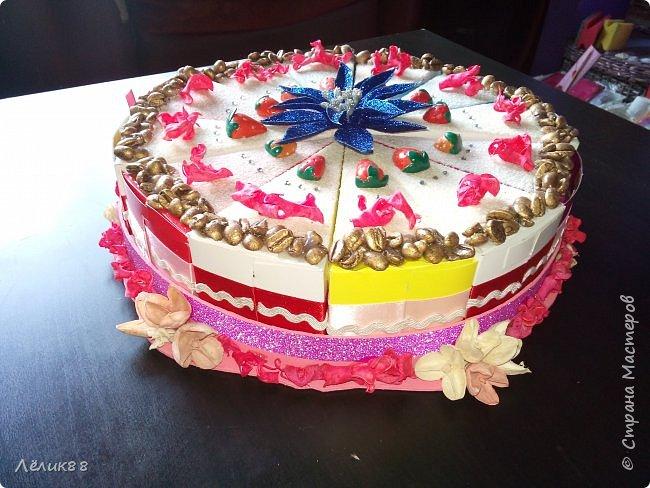 У моей подруги скоро день рождения. И я решила приготовить для нее необычный торт. Как думаете ей понравится? фото 4