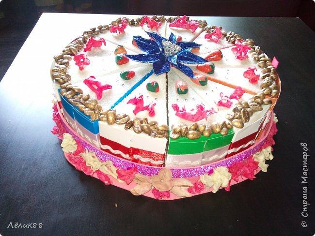 У моей подруги скоро день рождения. И я решила приготовить для нее необычный торт. Как думаете ей понравится? фото 2