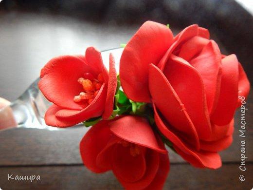 Гребень с орхидеями фото 6