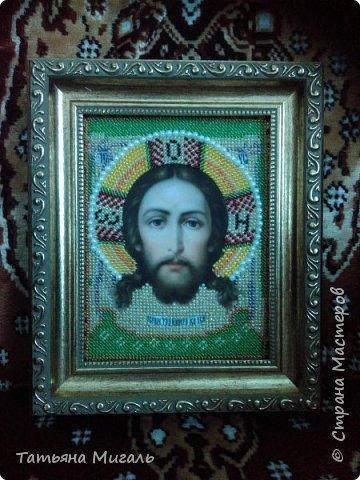 Бисерная картина:Лебединая верность фото 15