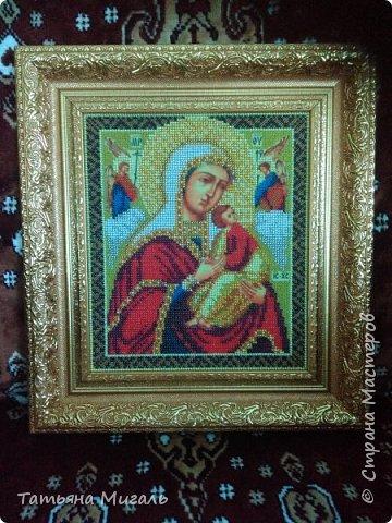 Бисерная картина:Лебединая верность фото 6