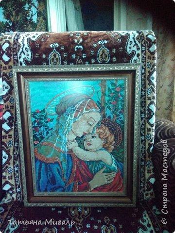 Бисерная картина:Лебединая верность фото 13