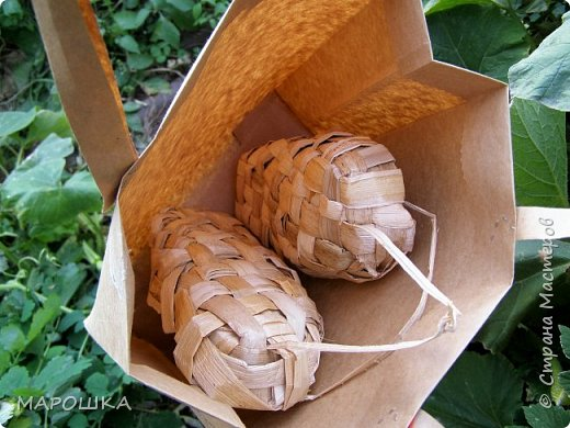 заказ лаптей выполнен! цветочки из талаша фото 3