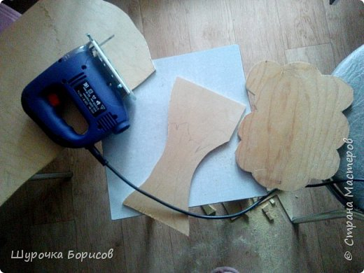 Лобзик - незаменимый инструмент, подарили подружки на День рожденичя фото 1