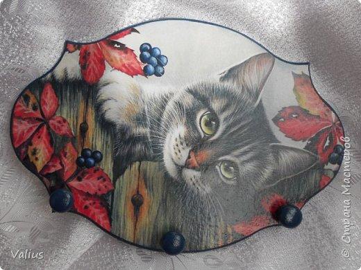 Добрый день! Я сегодня с котятками пришла. Долго вынашивала идею шкатулки-пенала размером 25х19 см, но ничего не придумывалось. Случайно наткнулась на картинку с котятками и ... опа... вот они! Не буду много писать, просто посмотрите, буду  очень рада, если приглянется моя шкатулочка... фото 10