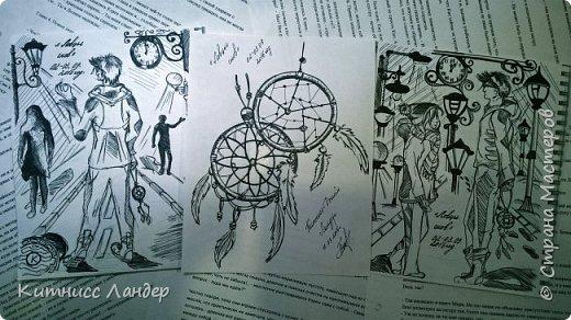 """Авторские арты к """"Ловцам Снов"""" фото 1"""