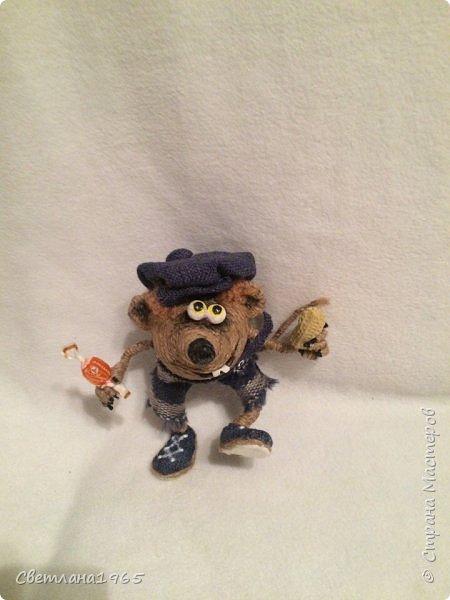 Приветствую страну!!!Очень нравятся джутовые игрушки сделанные местными умелицами,в частности, Лисоля, Nola29 !Появился крыскин-мышкин! фото 4
