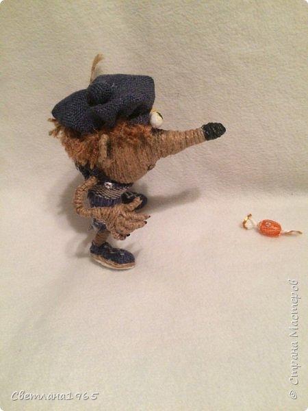 Приветствую страну!!!Очень нравятся джутовые игрушки сделанные местными умелицами,в частности, Лисоля, Nola29 !Появился крыскин-мышкин! фото 3