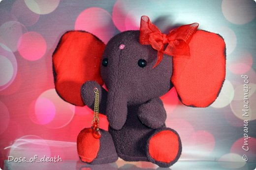 Делая - http://stranamasterov.ru/node/1048289, заразилась слониками. И решила сделать ещё несколько... фото 4