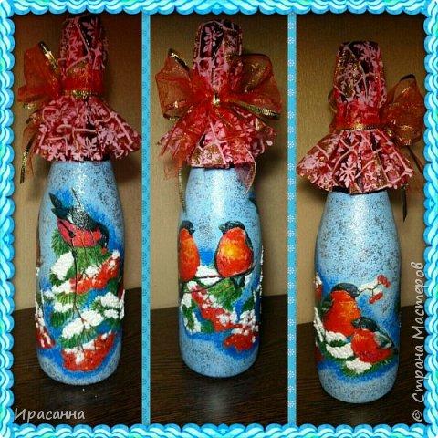 Бутылочки к Новому году фото 1