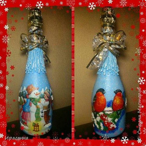 Бутылочки к Новому году фото 2