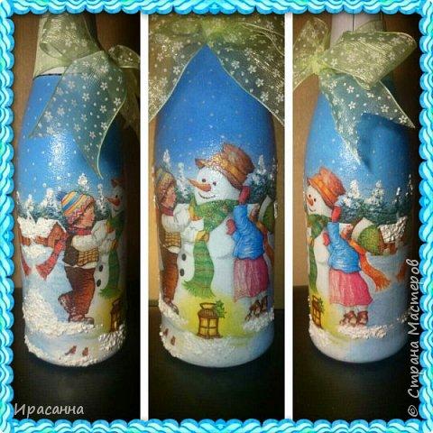 Бутылочки к Новому году фото 3