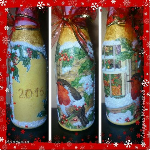 Бутылочки к Новому году фото 6