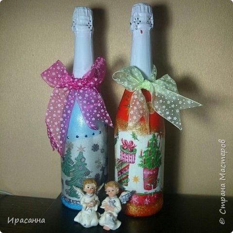 Бутылочки к Новому году фото 4