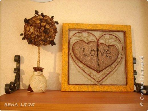 """Сердечки сделаны в подарок моей подруге Ольге. Пусть послужат оберегом в её доме, помогая хранить любовь, мир и согласие. В своём мастер-классе Аурелия учит нас как создавать """"камни""""   http://stranamasterov.ru/node/510625?c=favorite   Большое спасибо ей, благодаря этому, много чего хочется налепить из """"камня"""". фото 1"""