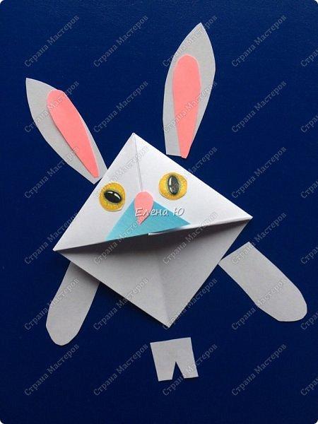 Такие забавные закладки можно смастерить в любимой мною технике оригами плюс аппликация:  фото 12