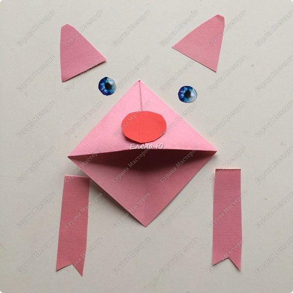 Такие забавные закладки можно смастерить в любимой мною технике оригами плюс аппликация:  фото 16