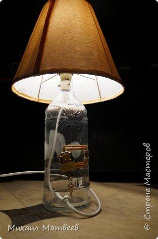 Всем привет! На работе попросили сделать подарок родителям на 25 летие родителей, решил реализовать идею по совмещению копилки и настольной лампы,вот что получилось фото 2