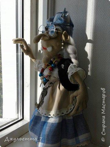 Баба Яга связана крючком по мастер-классу Галины Асташовой фото 2