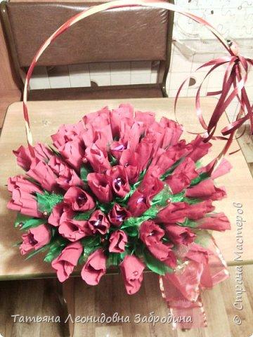 подарок для свекрови: 65 сладких роз фото 1