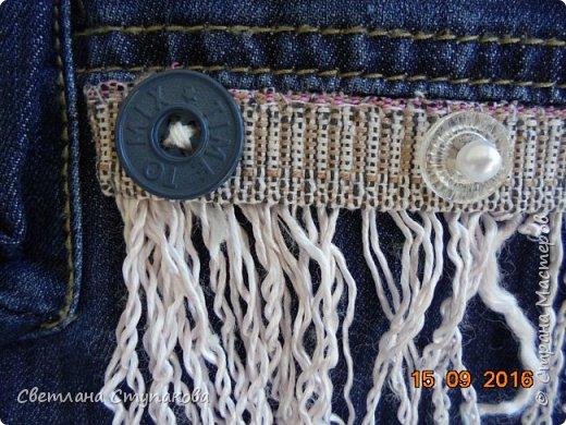 Представляю Вашему вниманию переделку  джинсов  в две сумочки. фото 4