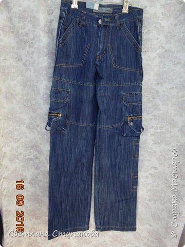 Представляю Вашему вниманию переделку  джинсов  в две сумочки. фото 7
