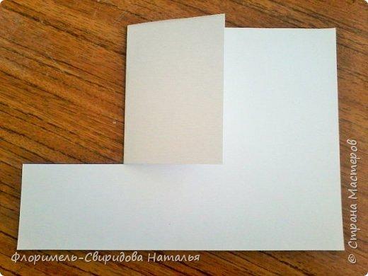 Продолжаю тему изготовления легких поделок из прямоугольника. Чем мне нравятся эти поделки, так это безотходным производством :-) фото 3