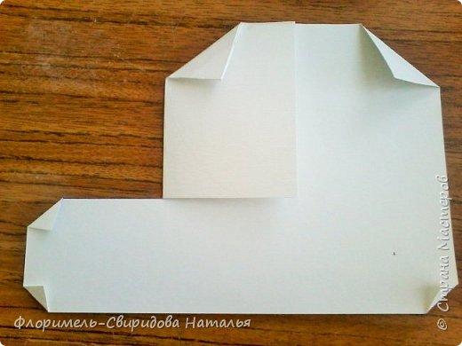 Продолжаю тему изготовления легких поделок из прямоугольника. Чем мне нравятся эти поделки, так это безотходным производством :-) фото 4