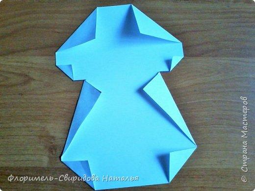 Продолжаю тему изготовления легких поделок из прямоугольника. Чем мне нравятся эти поделки, так это безотходным производством :-) фото 12
