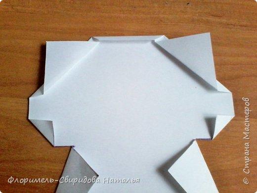 Продолжаю тему изготовления легких поделок из прямоугольника. Чем мне нравятся эти поделки, так это безотходным производством :-) фото 14