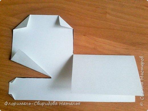 Продолжаю тему изготовления легких поделок из прямоугольника. Чем мне нравятся эти поделки, так это безотходным производством :-) фото 7