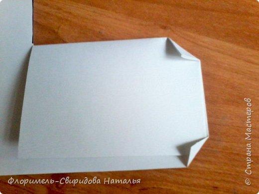 Продолжаю тему изготовления легких поделок из прямоугольника. Чем мне нравятся эти поделки, так это безотходным производством :-) фото 8