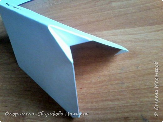Продолжаю тему изготовления легких поделок из прямоугольника. Чем мне нравятся эти поделки, так это безотходным производством :-) фото 9