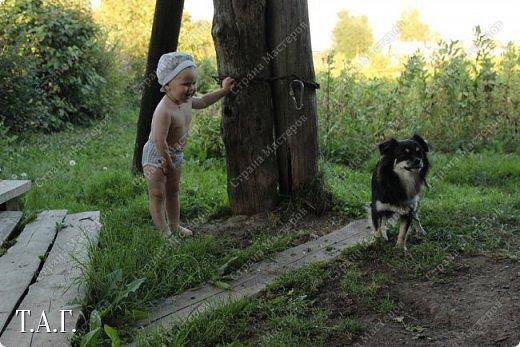 В детстве, как все, с нетерпением ждала каникулы, что бы ехать в гости к бабушке в деревню. Надеюсь, что внук Виталик будет спешить в страну своего детства. Дочь с мужем и внуком живут в другом городе, но достаточно регулярно навещают нас. фото 23