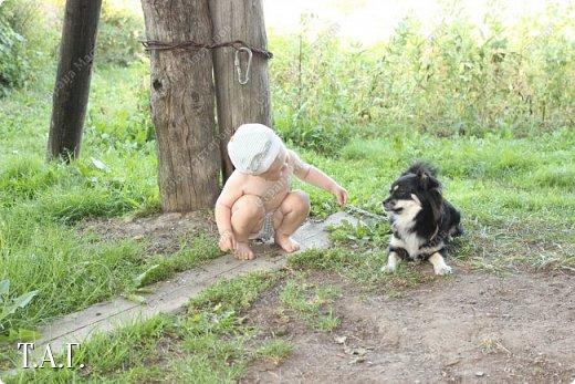 В детстве, как все, с нетерпением ждала каникулы, что бы ехать в гости к бабушке в деревню. Надеюсь, что внук Виталик будет спешить в страну своего детства. Дочь с мужем и внуком живут в другом городе, но достаточно регулярно навещают нас. фото 22