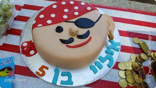 Этот торт изготовила моя дочь в подарок любимому племяннику... И еще...