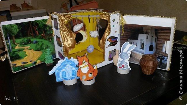 Встречайте результат многодневного (точнее, многовечернего) труда - домашний театр! Это подарок моей доченьке-звёздочке Алёнушке. Помогал старший сын, Лёша. А младший сынок Алесик не мешал, что в его возрасте огромное достижение!))) фото 15