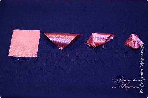 Когда я начинала работать с лентами, первое, что я искала, был мастер-класс по изготовлению розы своими руками. Но, признаюсь вам честно, я так и не нашла урока по розе, которая делалась бы из ленты и была бы максимально похожа на настоящую живую розу. Со временем я нашла для себя оптимальный способ. Меня часто просили сделать мастер-класс именно по этой розе. Кажется, время пришло ) фото 3