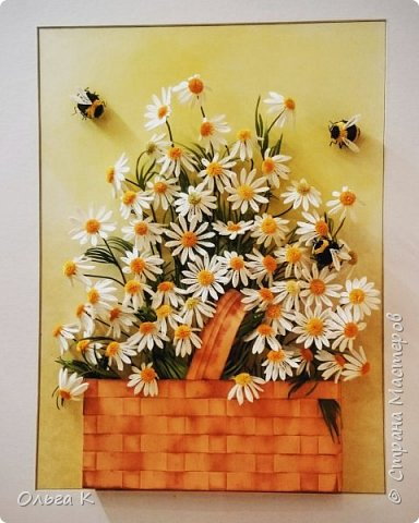 Здравствуйте,  дорогие соседи)))  Рада показать Вам ещё одну мою работу, цветы накрутила еше летом, сначала они стояли в вазе, затем лежали в коробке и вот наконец-то я их оформила)) фото 7
