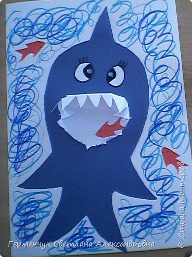 """Работы учащихся 4 """"В"""" ; класса"""" Добрые  акулы"""" фото 3"""